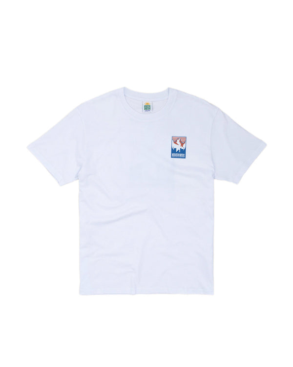 Hikerdelic Patch Logo T-Shirt White