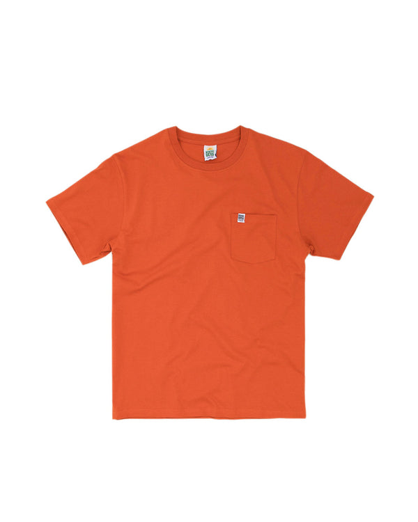 Hikerdelic Pocket T-Shirt Orange