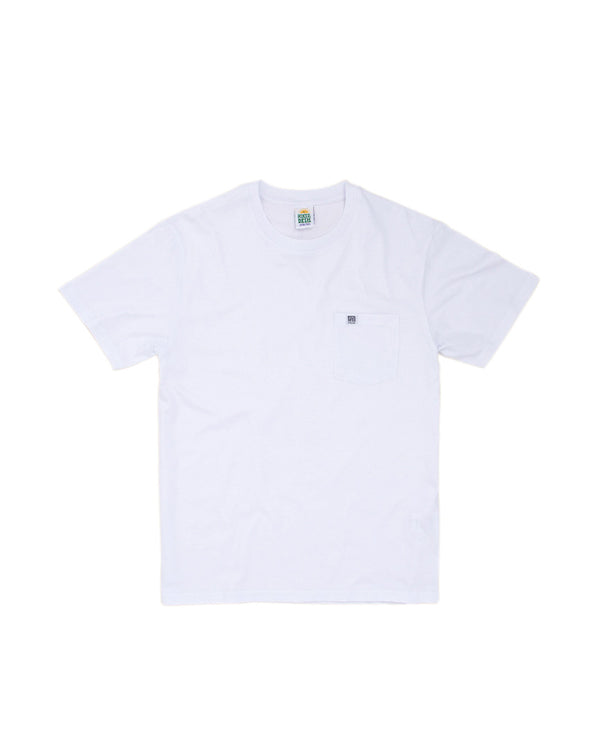 Hikerdelic Pocket T-Shirt White