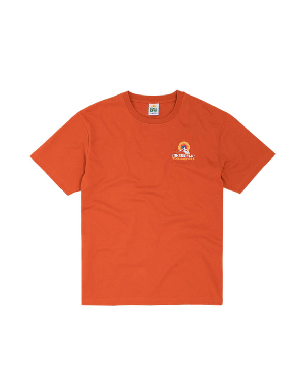 Hikerdelic Prog Rock T-Shirt Orange