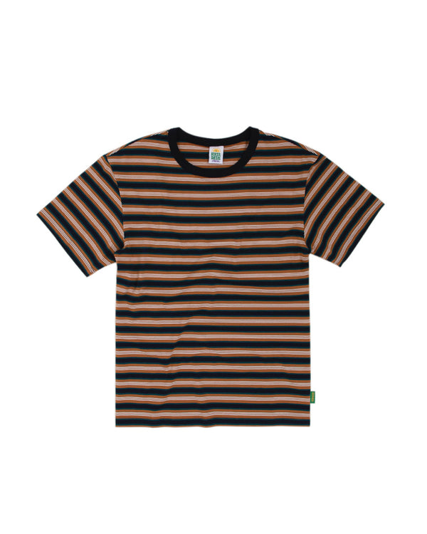 Hikerdelic Gordie Stripe T-Shirt Tan