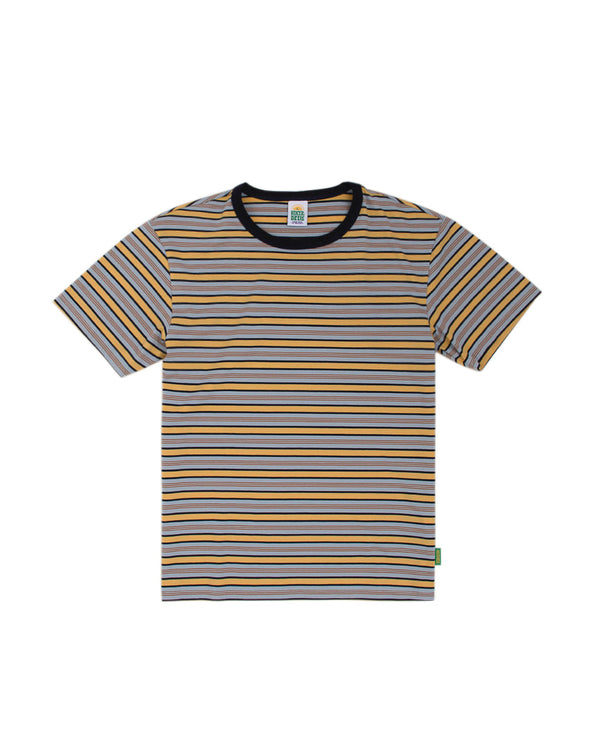 Hikerdelic Gordie Stripe T-Shirt Navy
