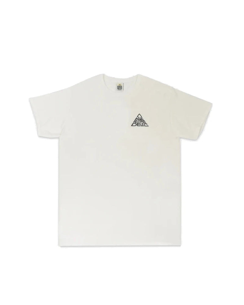Hikerdelic 60 degrees Mountain T-Shirt - White / Black