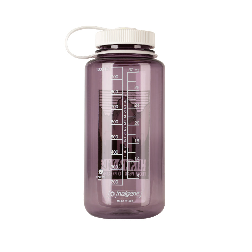 Hikerdelic x Nalgene 32oz Wide Mouth Bottle Aubergine