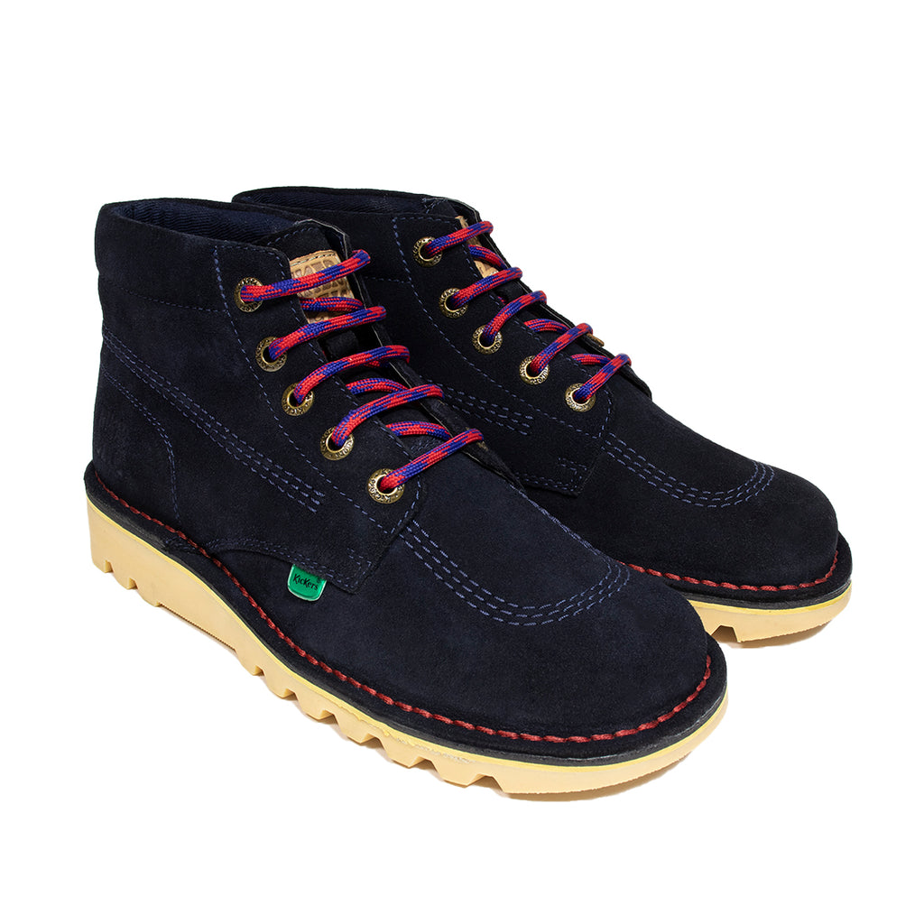 Kickers x Hikerdelic Kick Hi Boot Dark Blue - Hikerdelic Shop