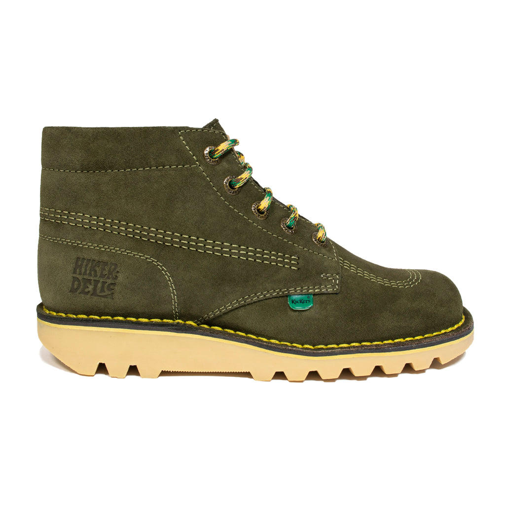 Kickers x Hikerdelic Kick Hi Boot Green - Hikerdelic Shop