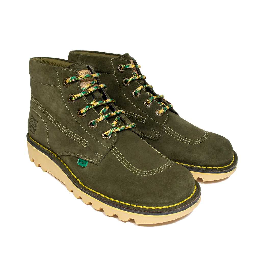 Kickers x Hikerdelic Kick Hi Boot Green