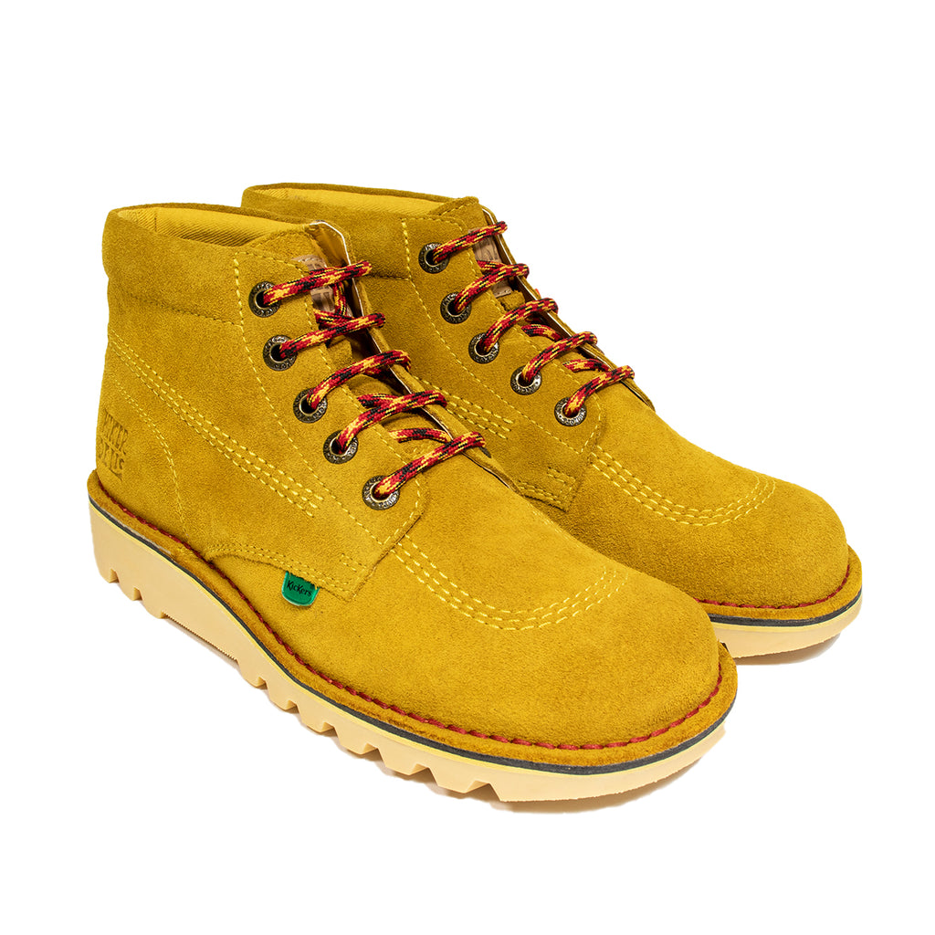Kickers x Hikerdelic Kick Hi Boot Yellow - Hikerdelic Shop