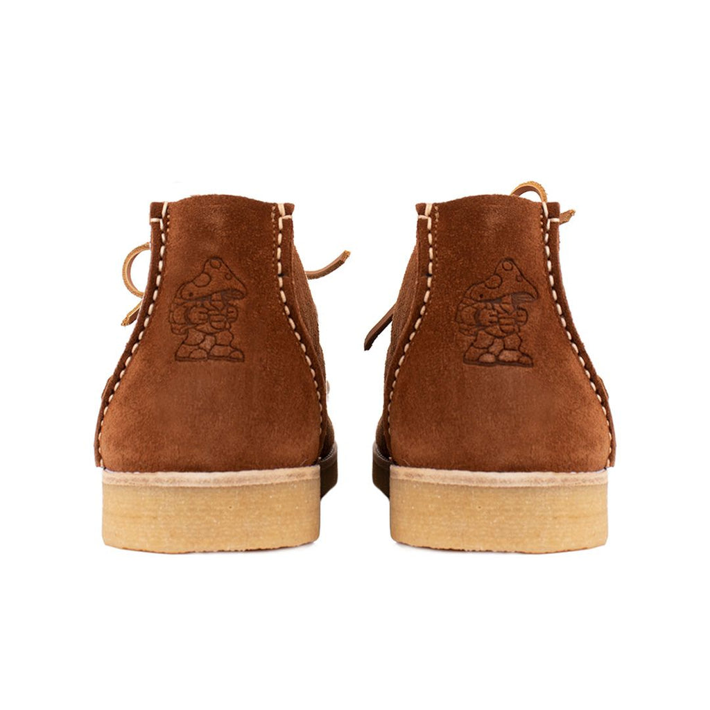 Yogi x Hikerdelic Eric Chukka Boot Cola Brown
