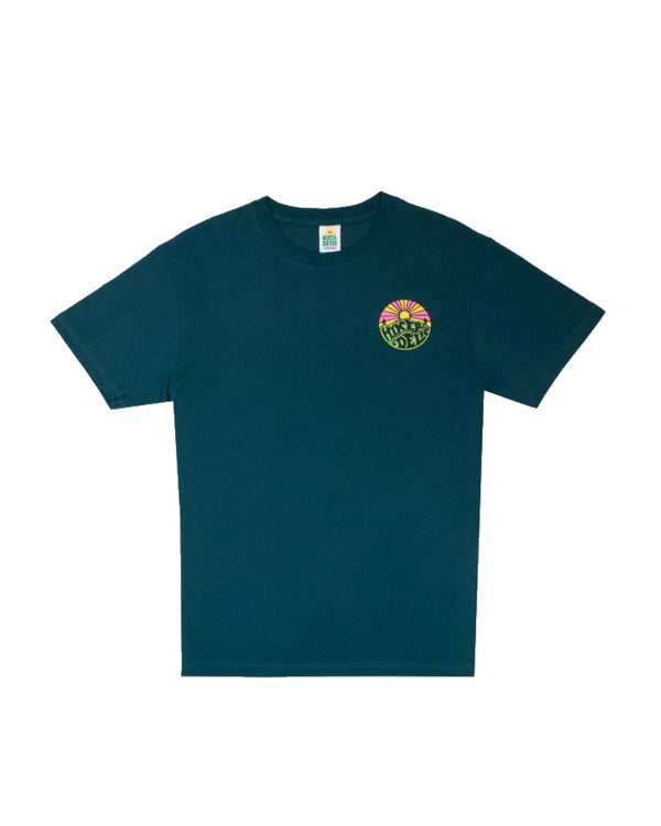 Hikerdelic Original Logo SS T-Shirt - Bottle Green