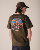 Hikerdelic Original Logo T-Shirt Military Green