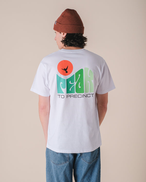 Hikerdelic Peak Dove T-Shirt White