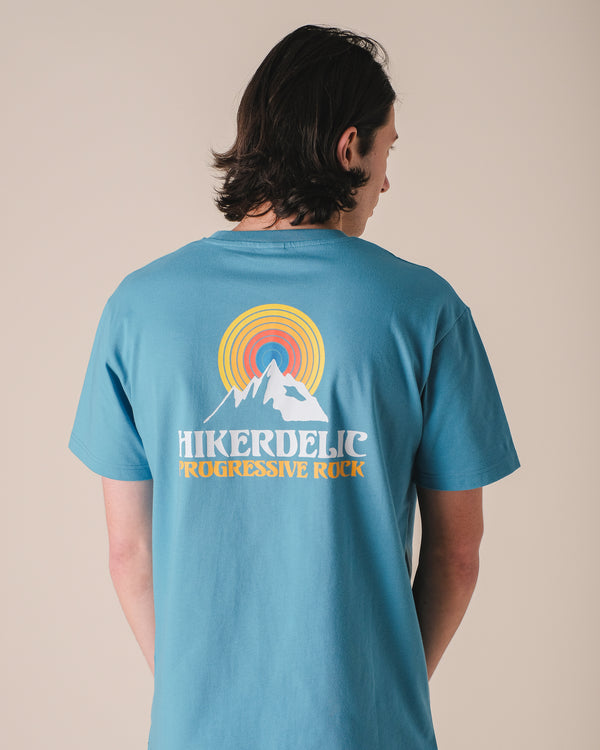 Hikerdelic Prog Rock T-Shirt Aqua
