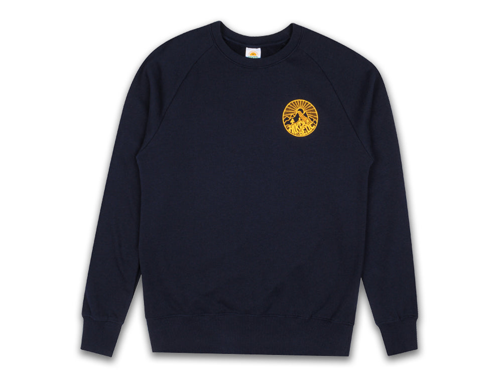 Hikerdelic Core Logo Sweatshirt - Navy - Hikerdelic Shop