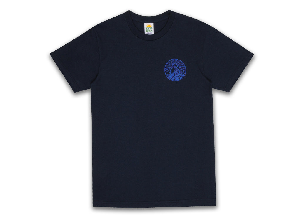 Hikerdelic Core Logo T-Shirt - Navy - Hikerdelic Shop