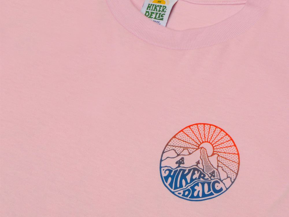 Hikerdelic Core Blend T-Shirt - Pink - Hikerdelic Shop