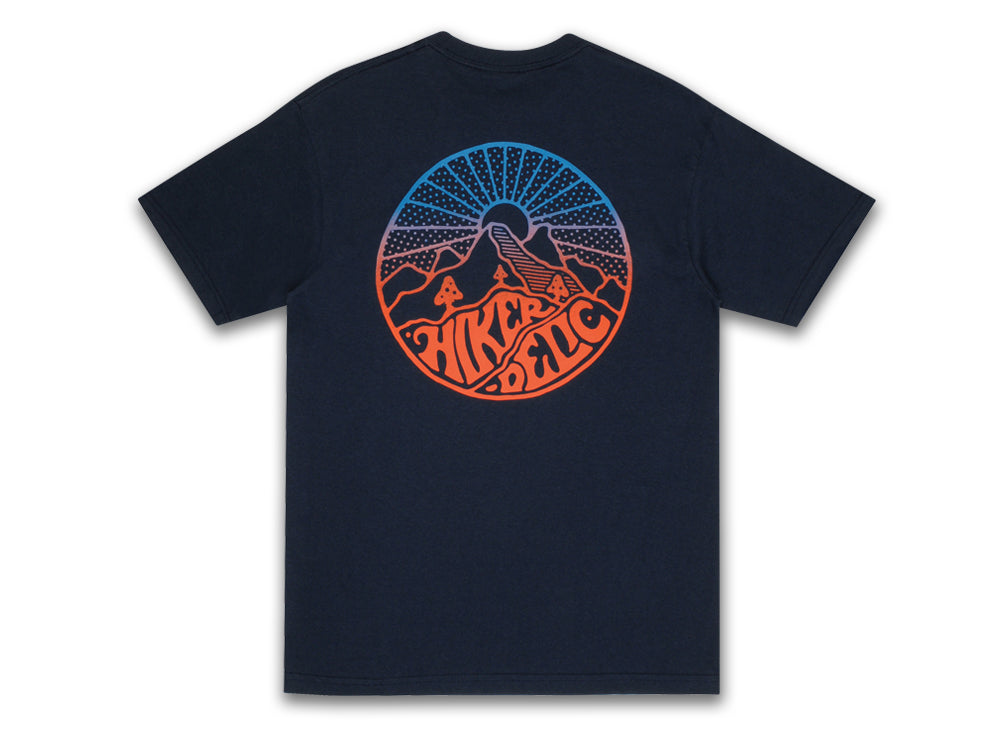 Hikerdelic Core Blend T-Shirt - Navy - Hikerdelic Shop