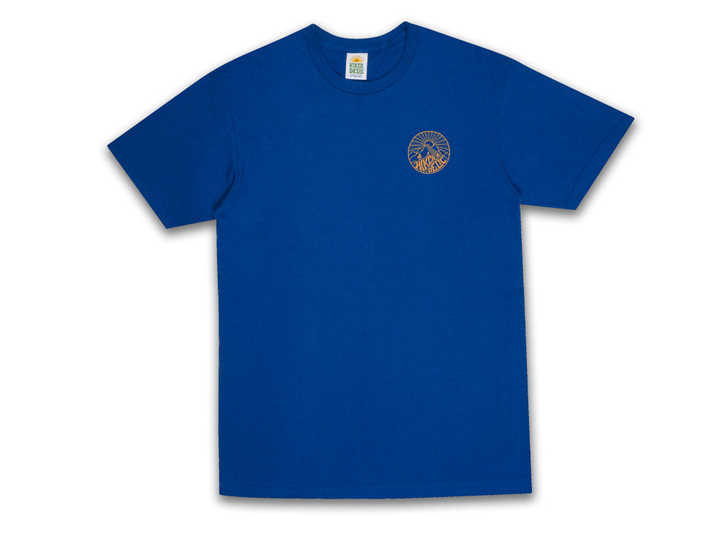 Hikerdelic Core Logo T-Shirt - Royal - Hikerdelic Shop