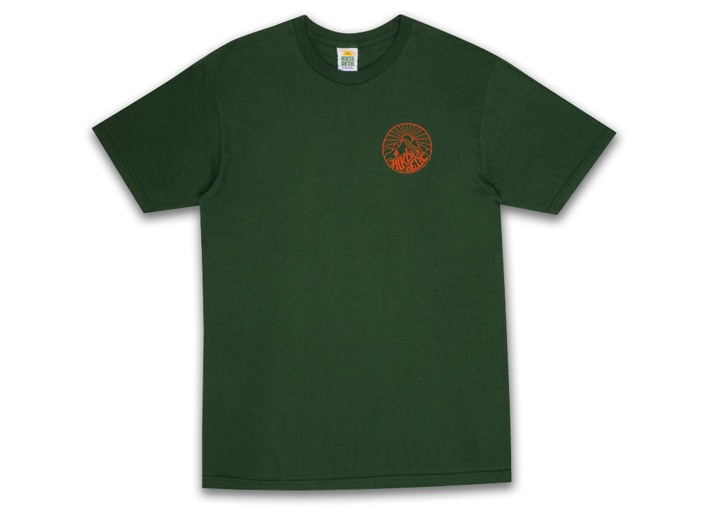 Hikerdelic Core Logo T-Shirt - Green