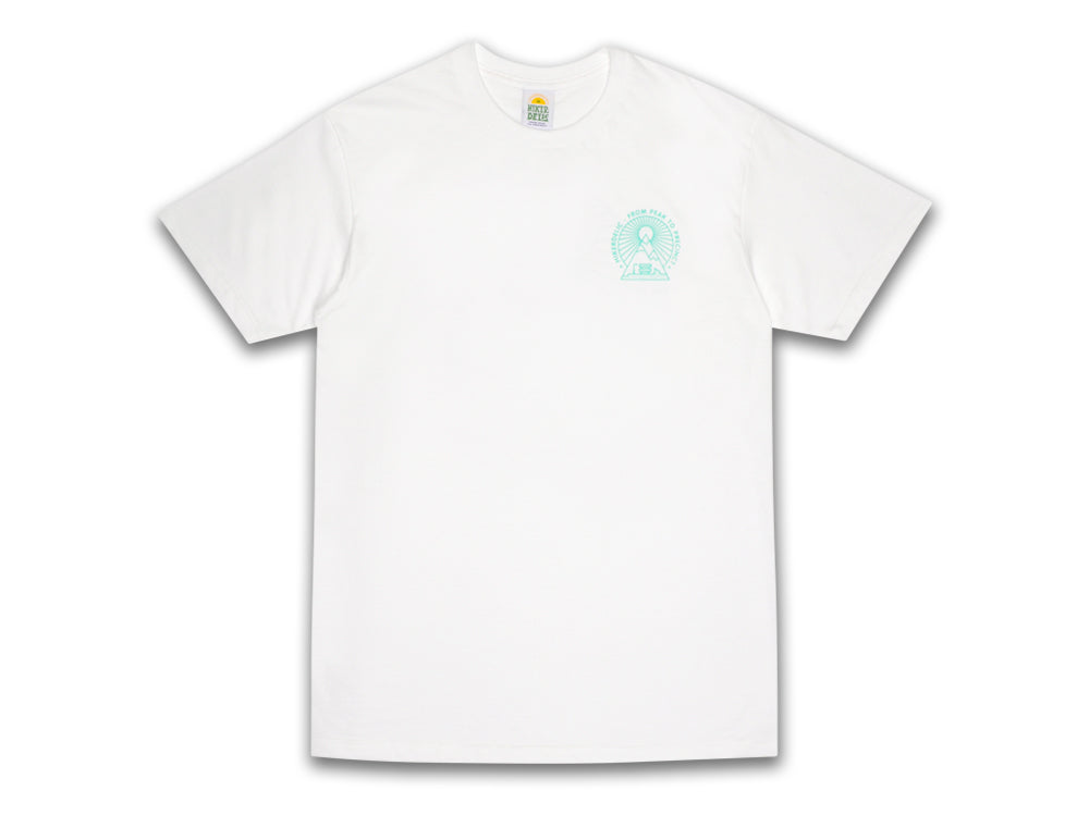 Hikerdelic From Peak To Precinct T-Shirt - White - Hikerdelic Shop