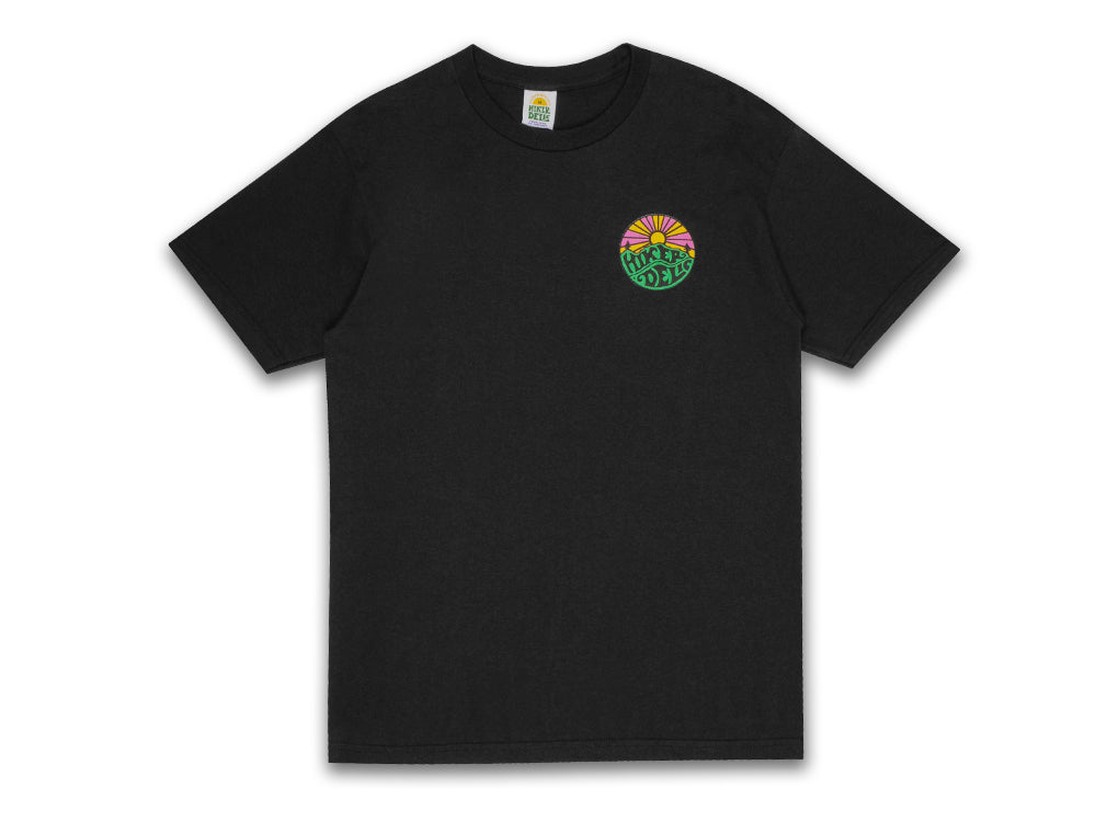 Hikerdelic Original Logo T-Shirt - Black - Hikerdelic Shop