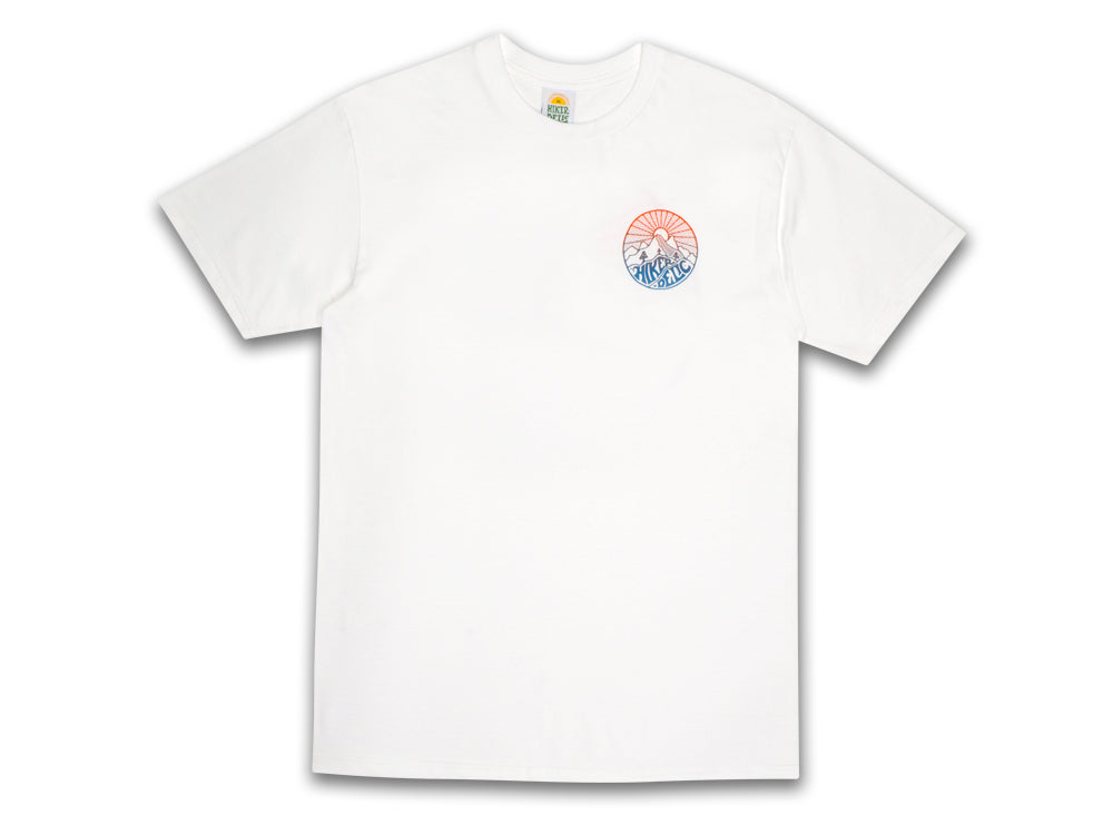 Hikerdelic Core Blend T-Shirt - White - Hikerdelic Shop