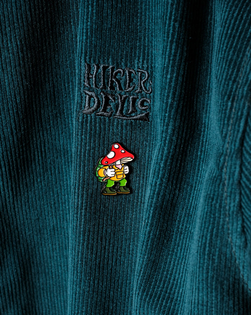 Hikerdelic Eric Pin Badge