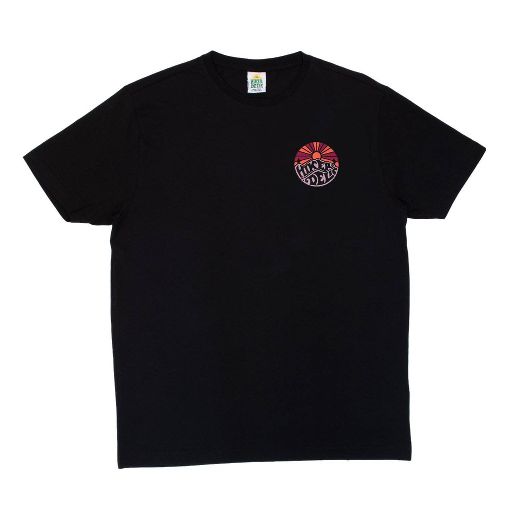Hikerdelic Original Logo T-Shirt Dark Navy / Cherry