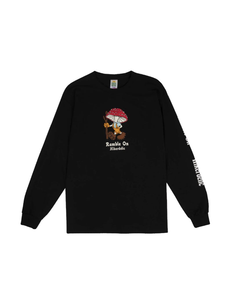 Hikerdelic Derek Long Sleeve T-Shirt Black