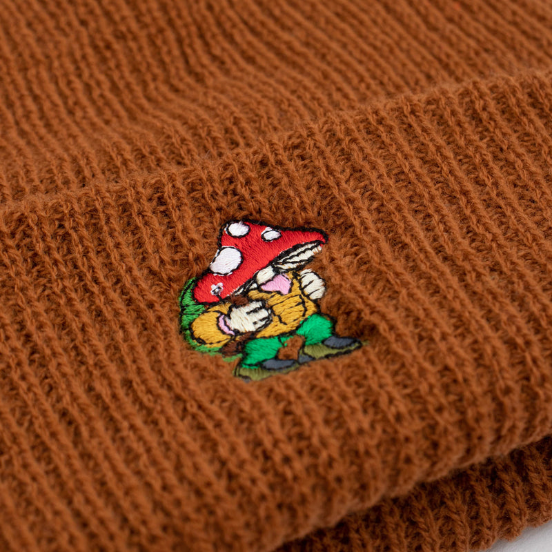 Hikerdelic Fisherman Beanie Light Brown