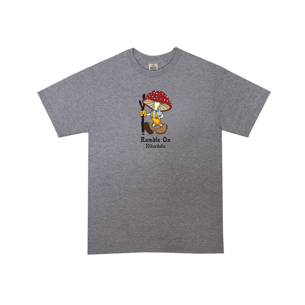 Hikerdelic Derek T-Shirt - Ash Grey