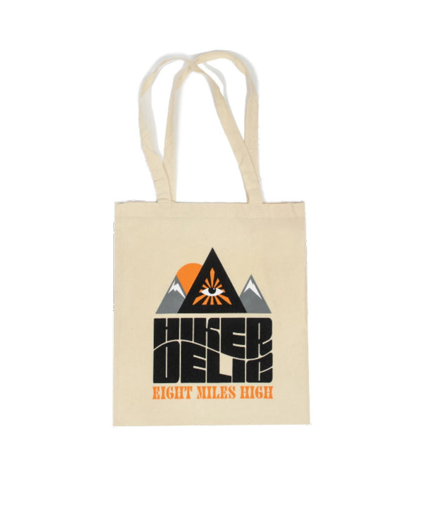 Hikerdelic Eight Miles High Tote Bag - Natural