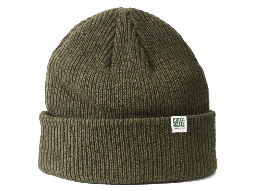 Hikerdelic Merino Wool Hat - Light Olive - Hikerdelic Shop
