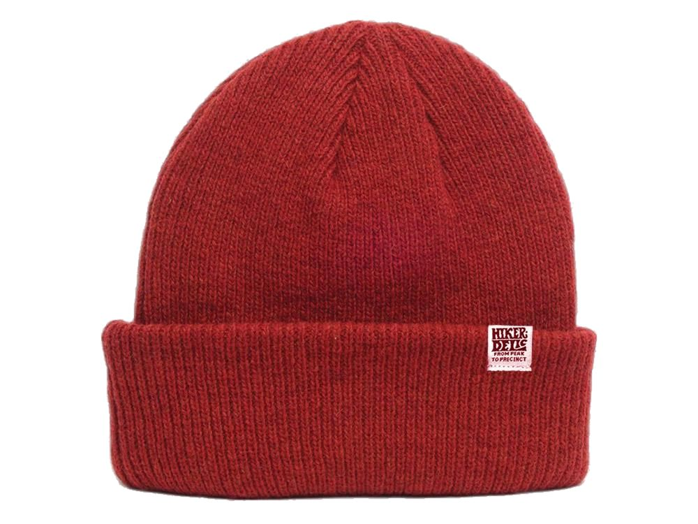 Hikerdelic Merino Wool Hat - Red - Hikerdelic Shop