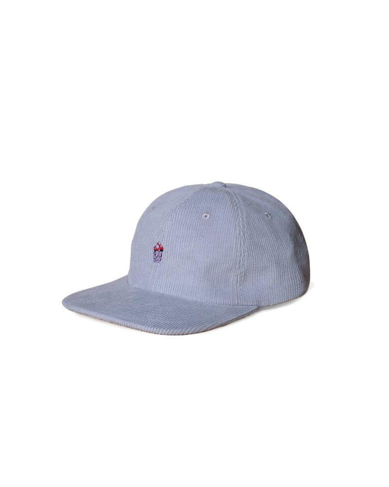 Hikerdelic Fruit Pastille Cord Cap Light Grey