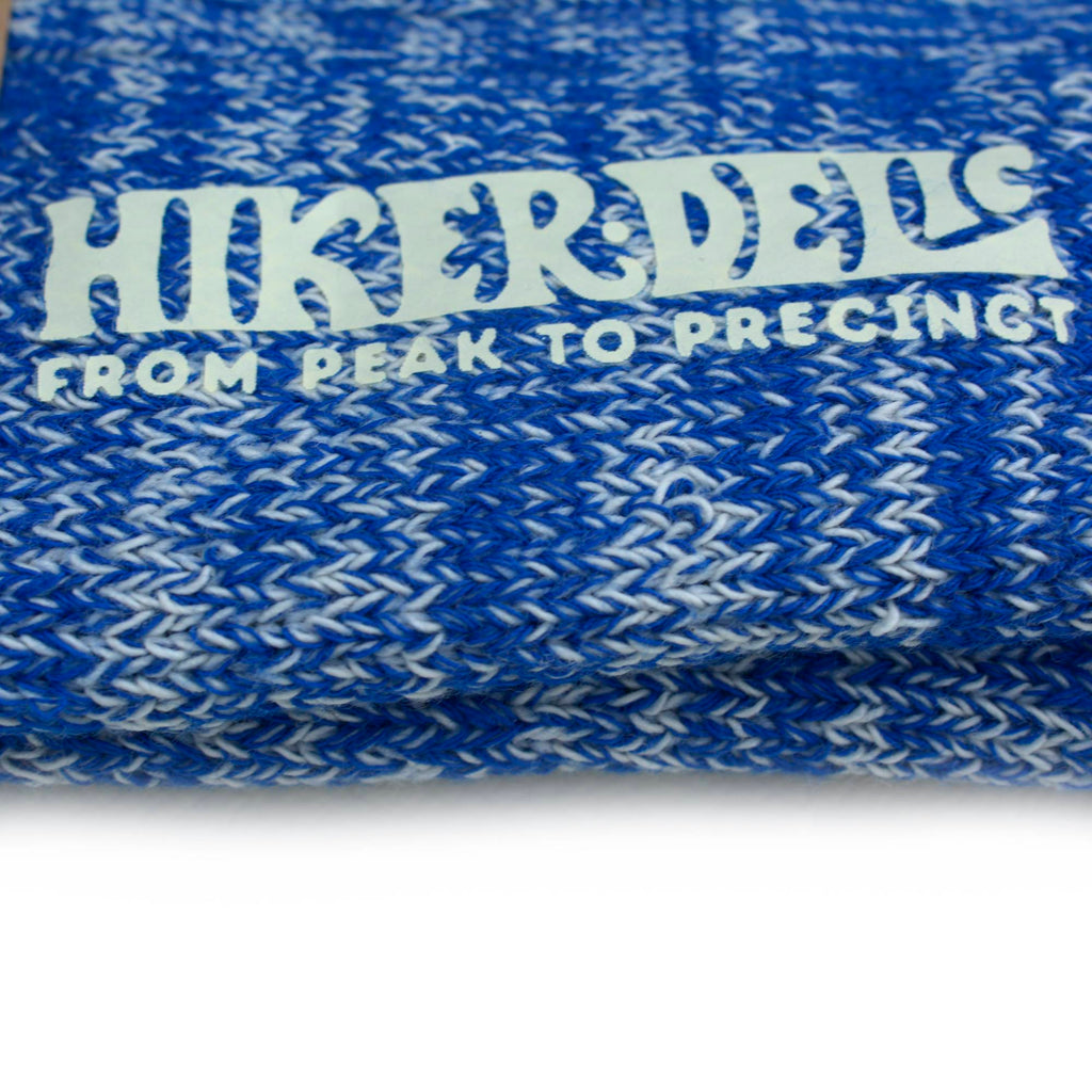 Hikerdelic Seaside Socks - Paradise Blue - Hikerdelic Shop