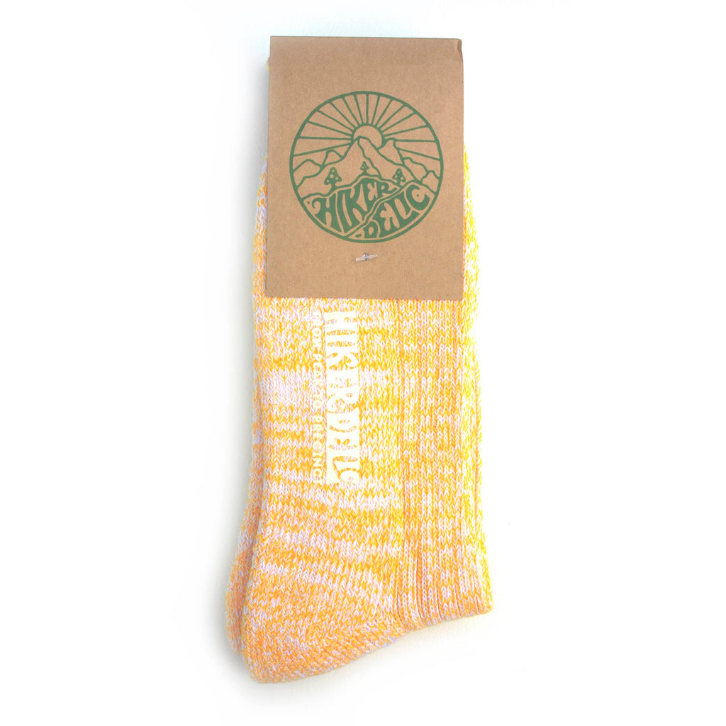 Hikerdelic Smoothie Socks - Satsuma - Hikerdelic Shop