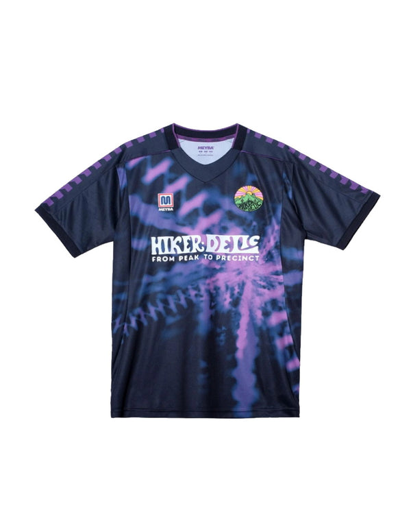 Hikerdelic x Meyba Kieran Football Shirt Purple