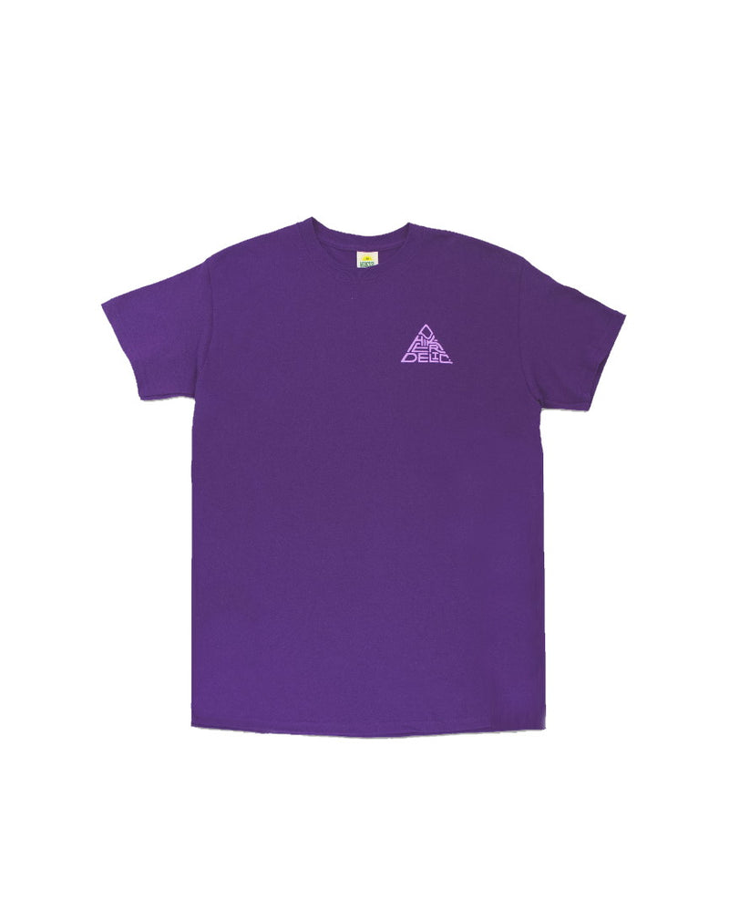 Hikerdelic 60 degrees Mountain T-Shirt - Purple / Lilac
