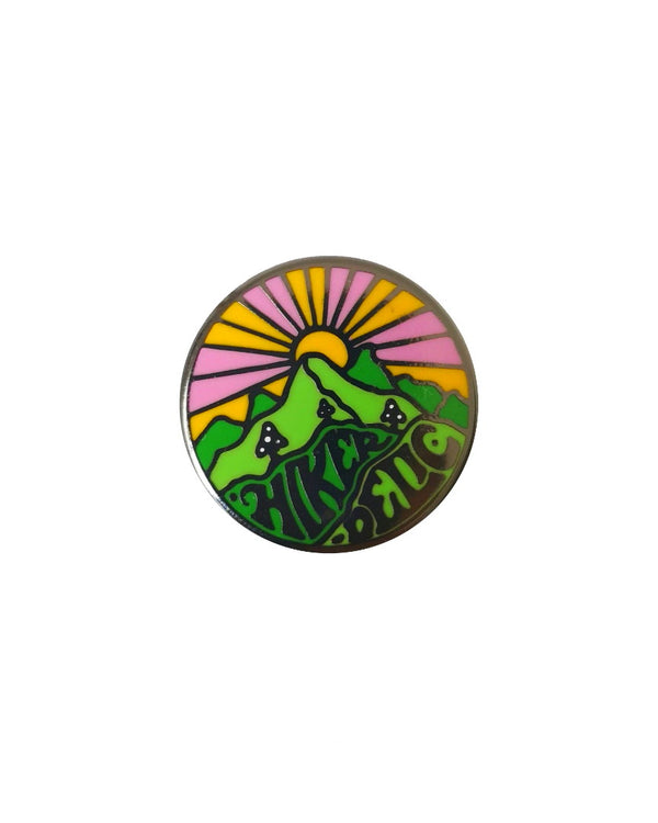 Hikerdelic Original Logo Pin Badge
