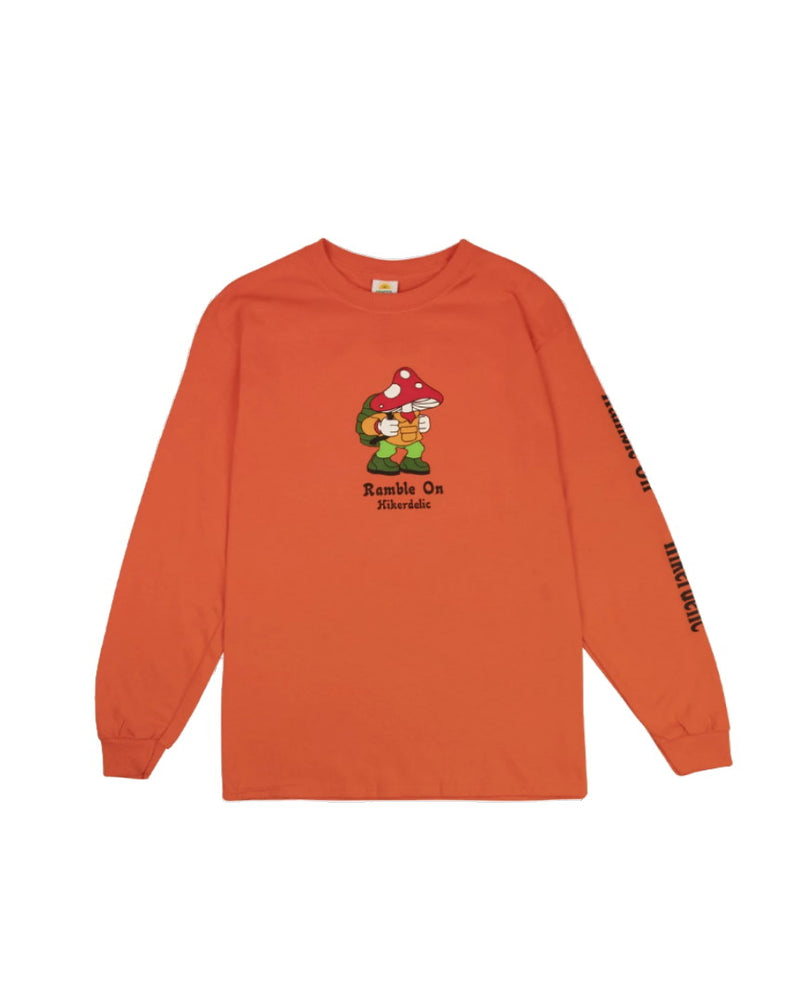 Hikerdelic Eric Long Sleeve T-Shirt Orange