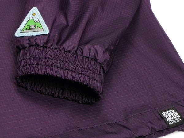 Hikerdelic Hope Smock Jacket Purple/Olive - Hikerdelic Shop