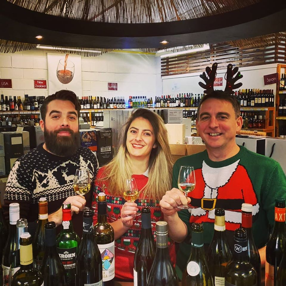 Stars of the Christmas Tasting!