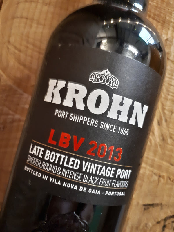 Krohn Late Bottled Vintage (LBV) 2013