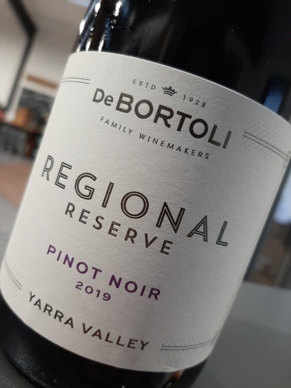 De Bortoli Regional Reserve Pinot Noir (Limited stock, pre-order now for delivery before Christmas)