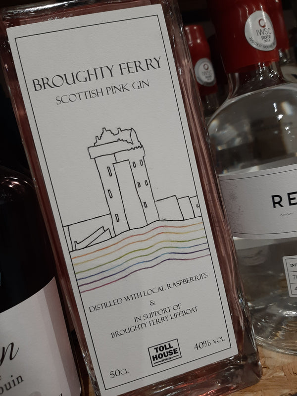 Broughty Ferry Pink Gin