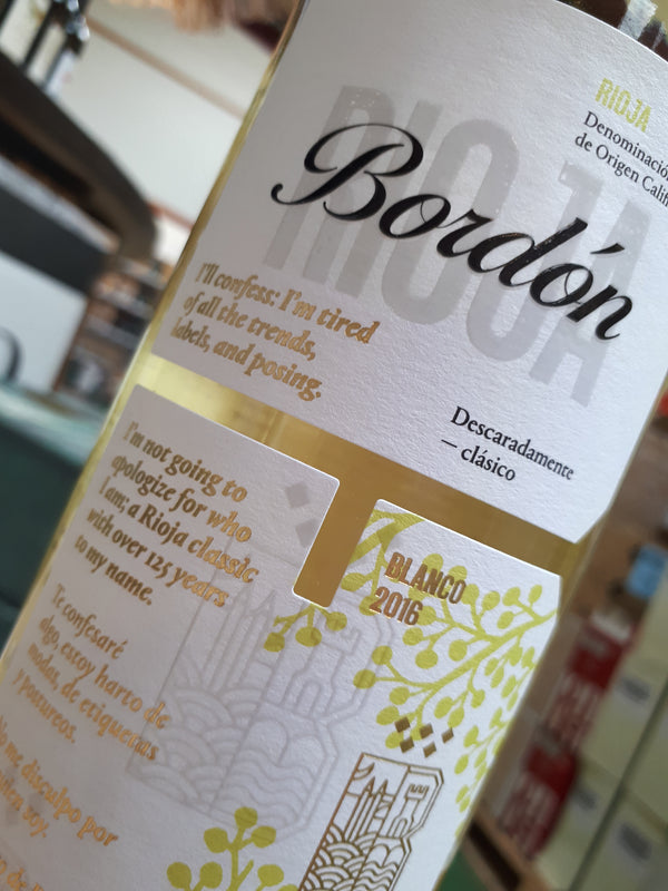 Rioja Bordon, Blanco