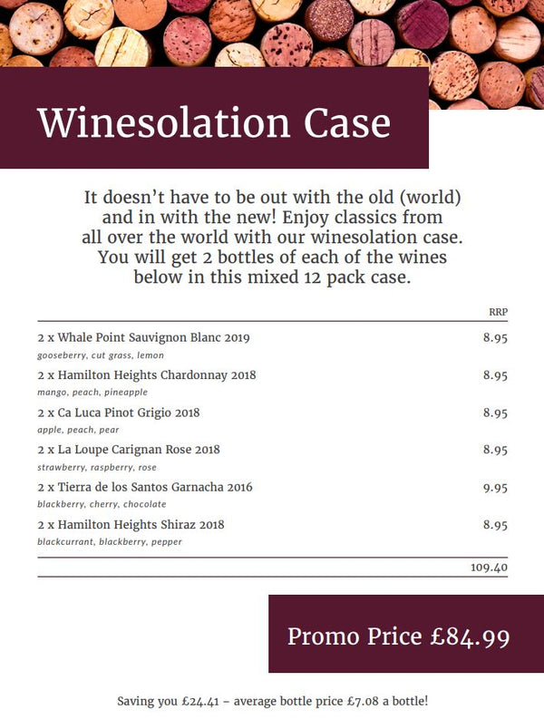 Winesolation 12 Bottle Box