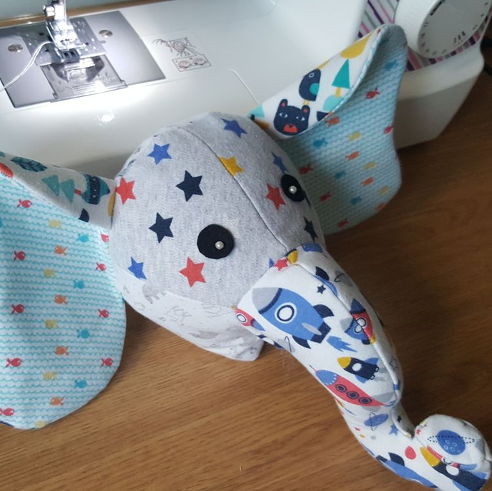 Step by Step guide on how we make a Memory Bear (Elephant!) Keepsake