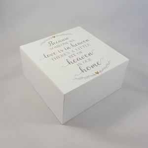 Memory Box - Keepsake Box